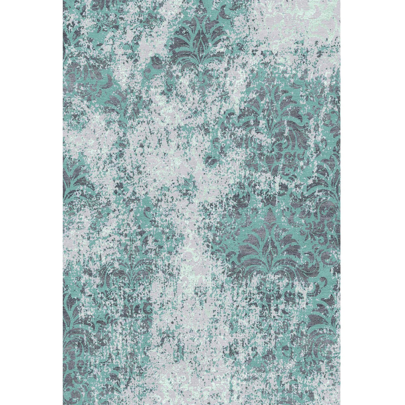 Grunge Blue Custom Area Rug