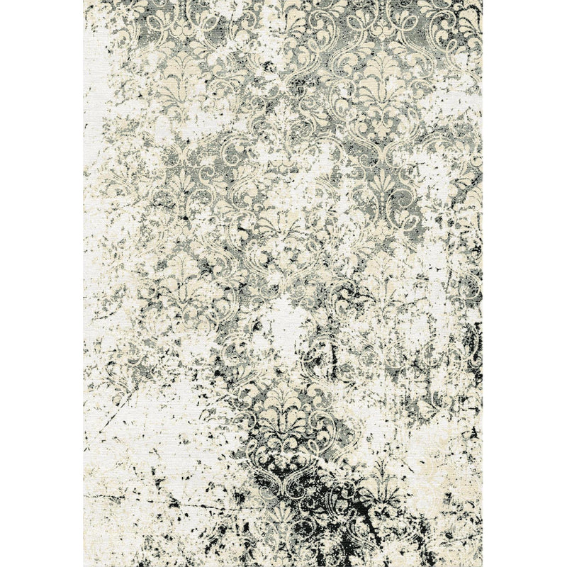 Grunge Damask Custom Area Rug