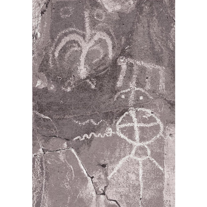 Petroglyph Design Custom Area Rug