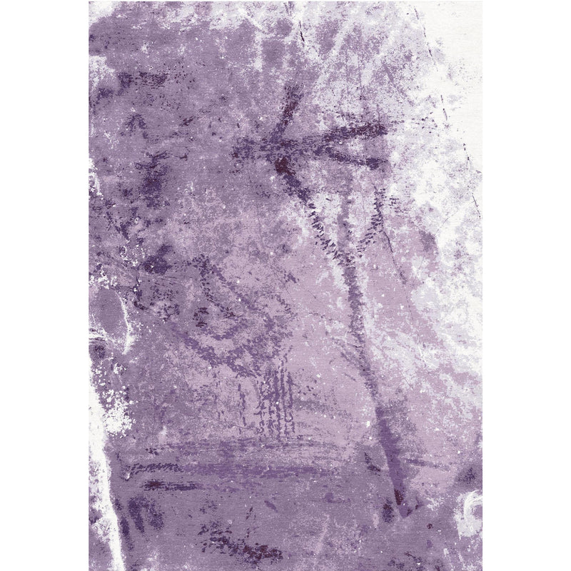 Petroglyph Purple  Design Custom Area Rug