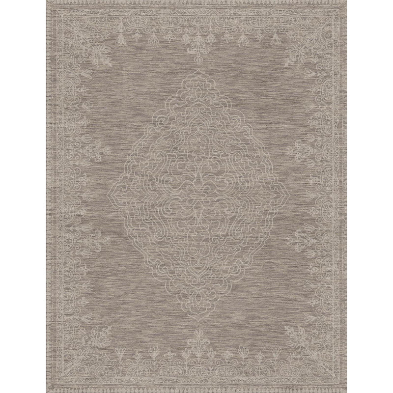 Simple Design Dark Brown Custom Area Rug