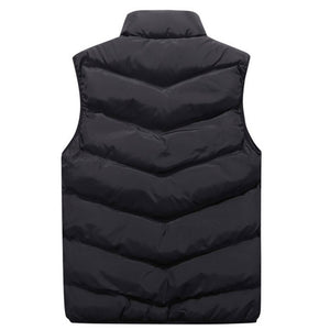 Plus Size Vest Men Brand Mens Jacket Sleeveless Vests  Jackets Men Casual Coats Men's Vest Man Cotton Thicken Waistcoat 8XL