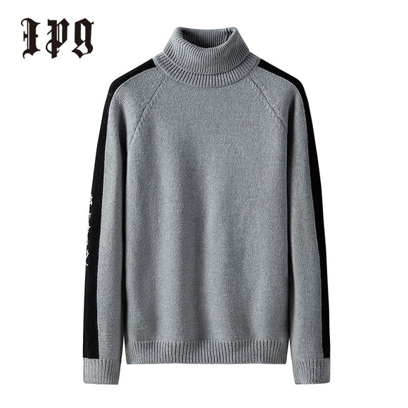 Japanese-style Harajuku Turtleneck Men's  Pullover
