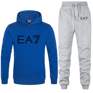 2 Piece Sets Hoodies+Pants Men's