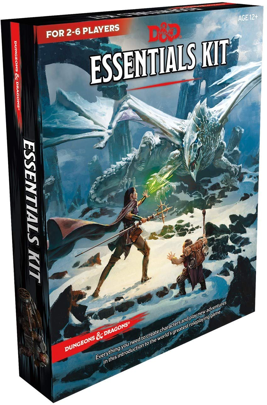Dungeons & Dragons Essentials Kit | Games Portal