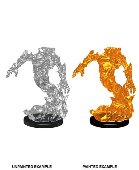 Medium Fire Elemental Pathfinder Miniature | Games Portal