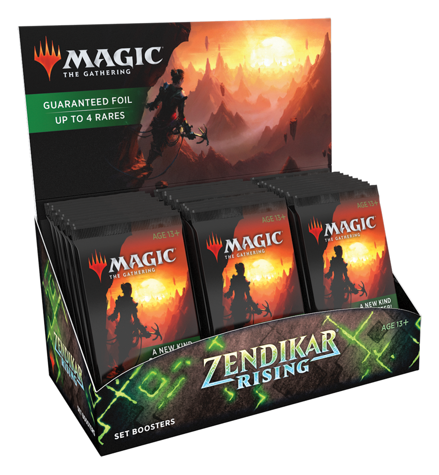 Zendikar Rising - Set Booster Box | Games Portal