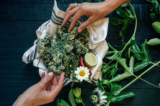 High Protein Kale Chips