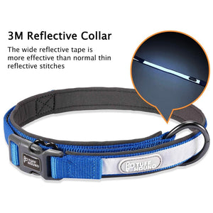TUFF HOUND Reflective Dog Collar