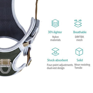 TUFF HOUND Adjustable Harness - Forest Walk - Browse Co