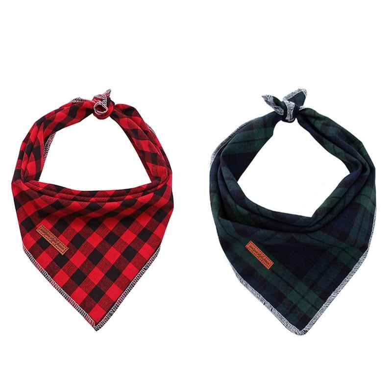 THE PLAID & Co 2 Pack Dog Bandana - Browse Co