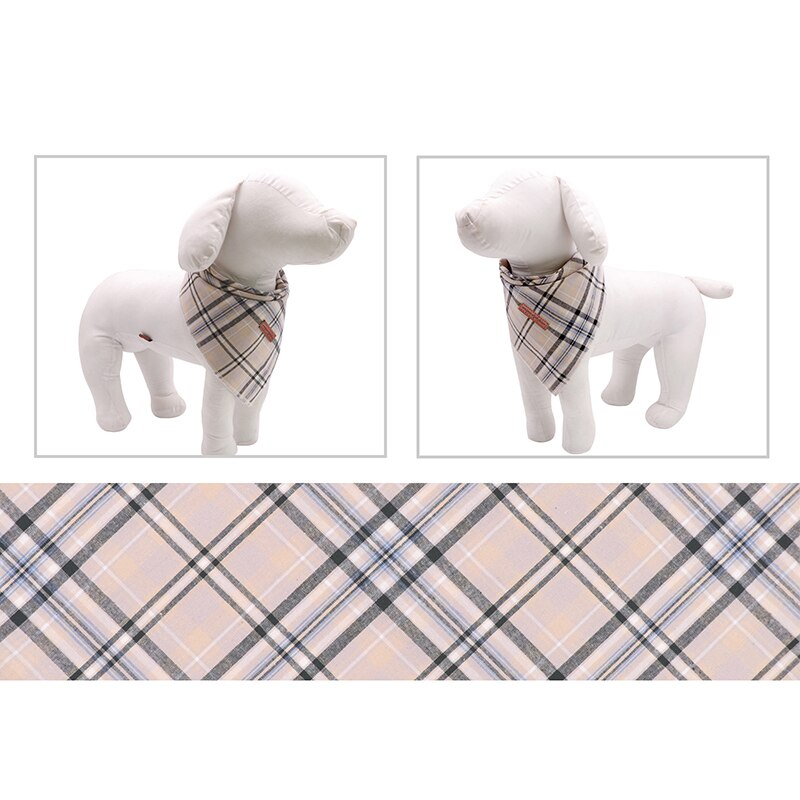 THE CHECKS & Co 2pk Dog Bandana