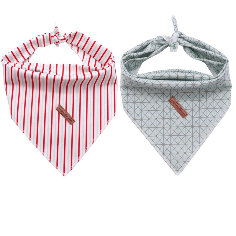 THE CANDYCANE & Co 2pk Dog Bandana