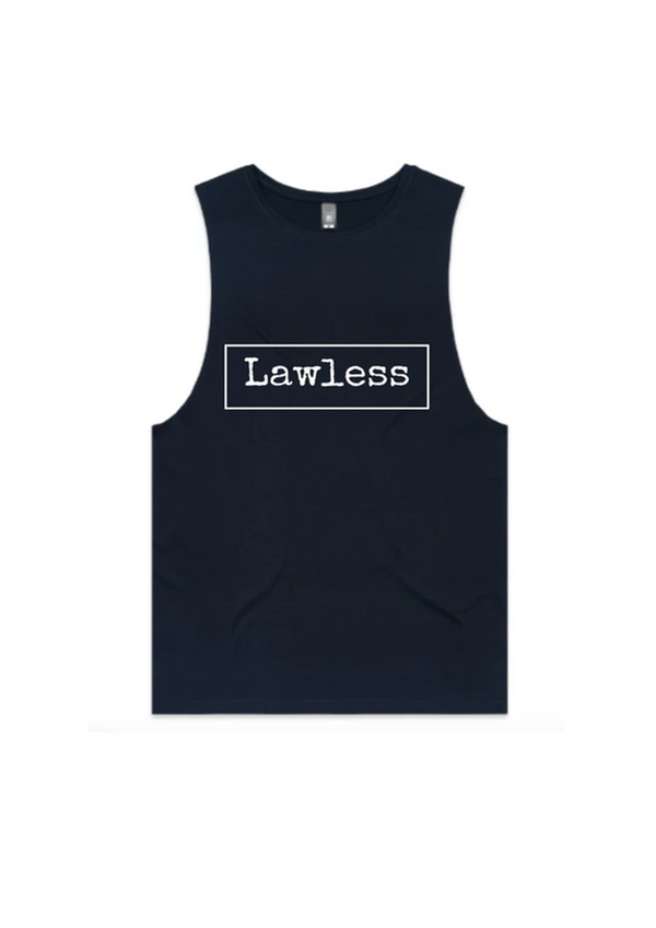 LAWLESS - Men's Muscle Tank.