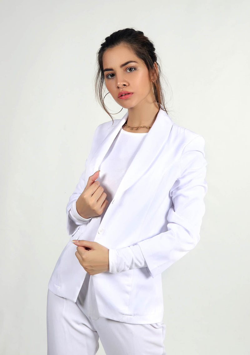 Blazer in White