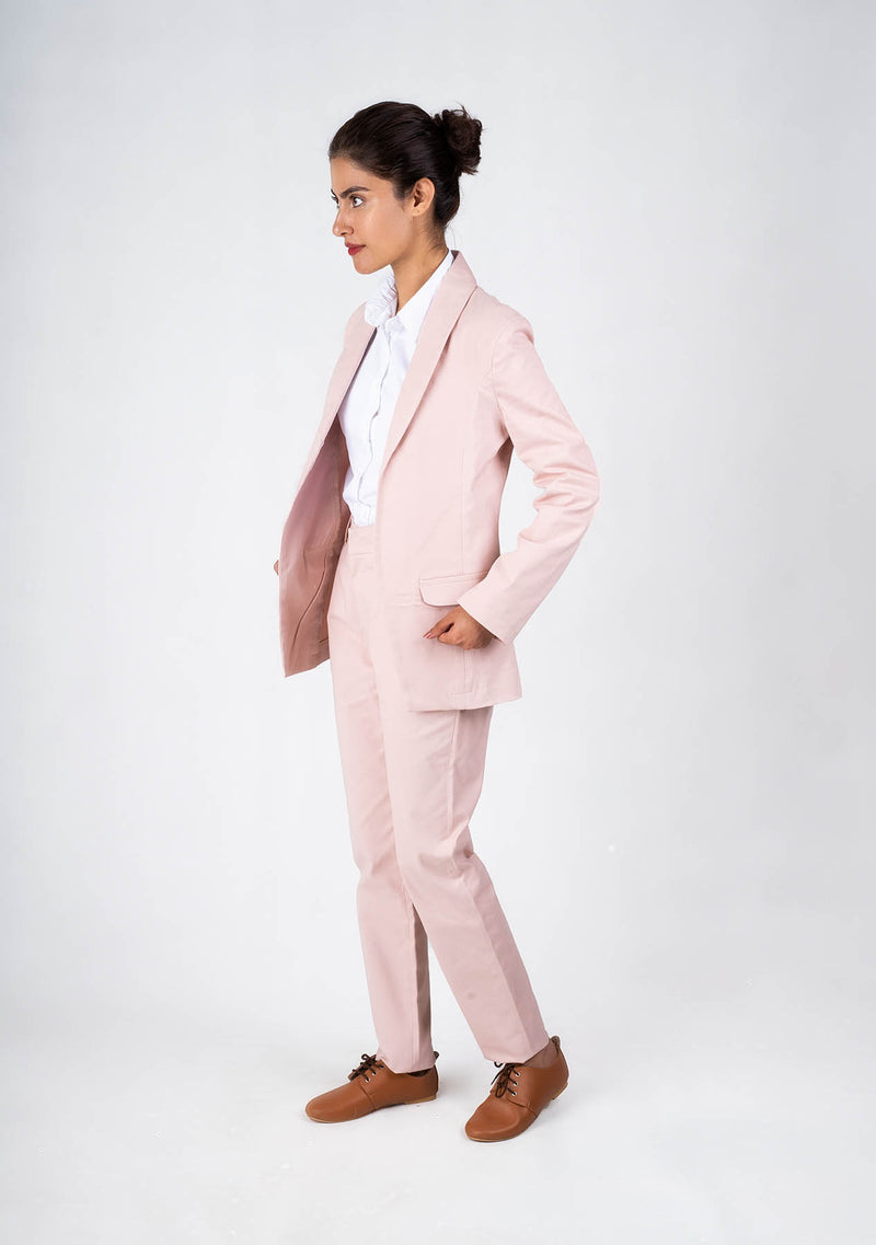 Blazer in Light Pink