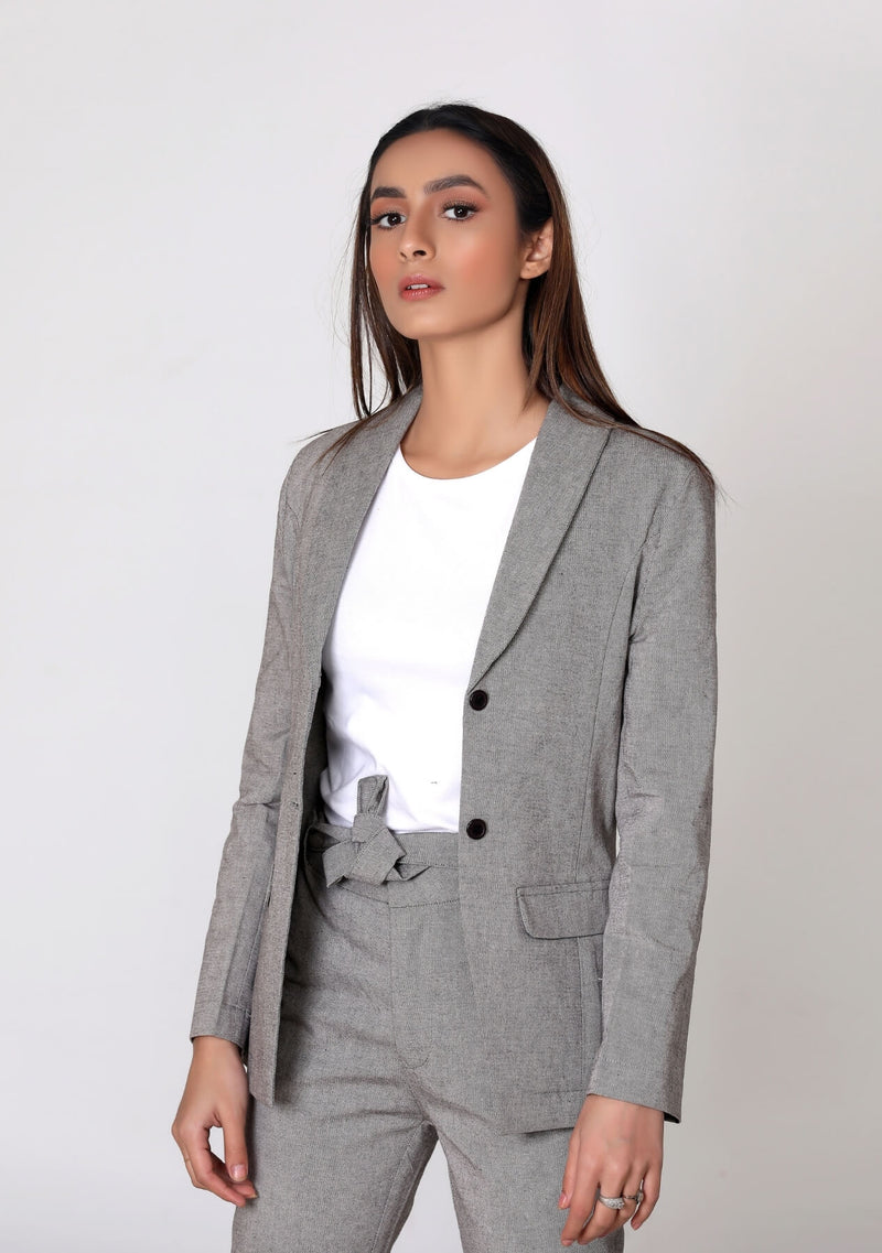 Blazer in grey
