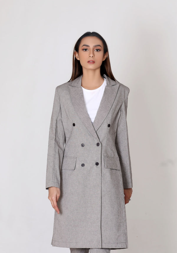 Trench Coat - grey