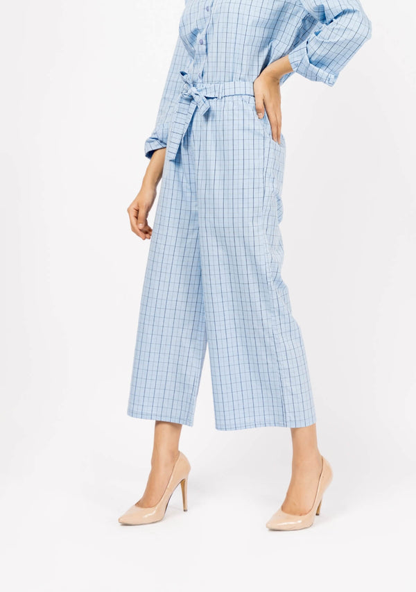 High Waist Culotte | Wide Leg Trouser Co-ord