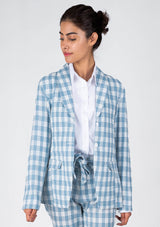 Blazer in Sky Blue
