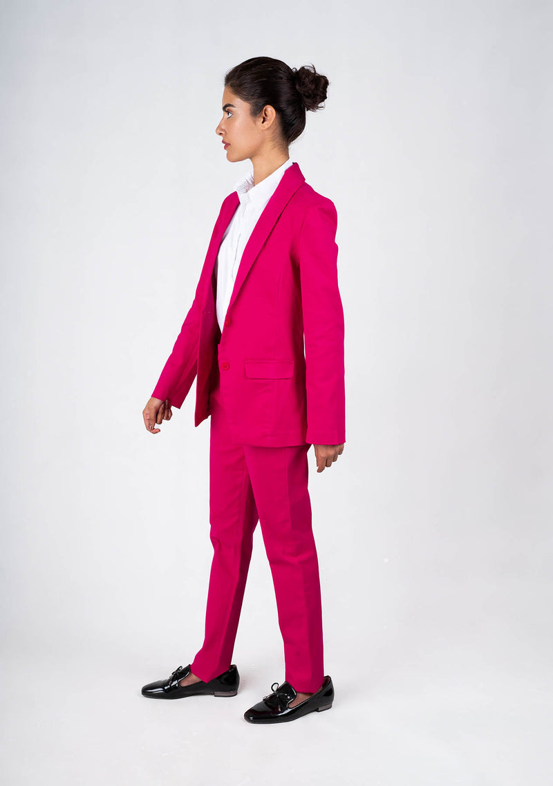 Blazer in Hot Pink