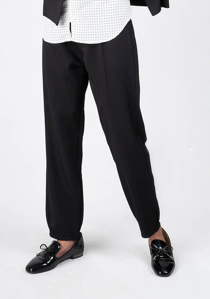 Darted Pant in Black