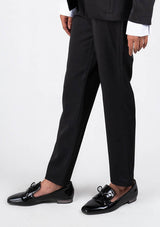 Straight Pant in Black