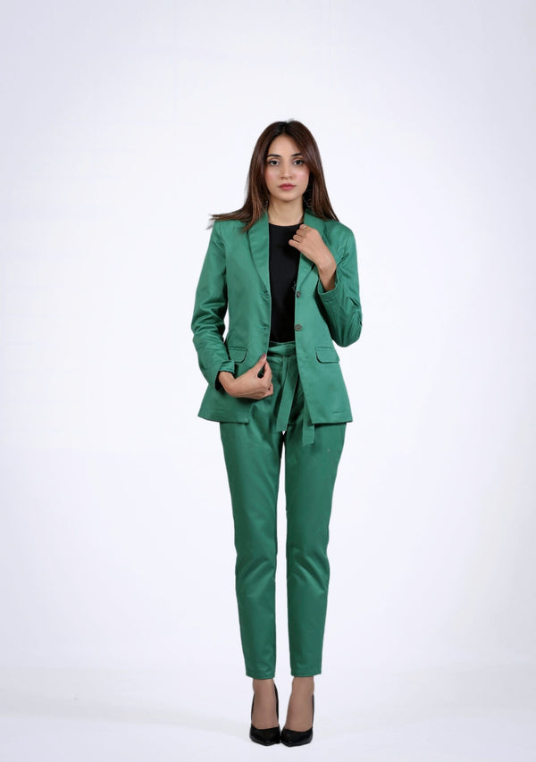 Straight Pant in parrot green