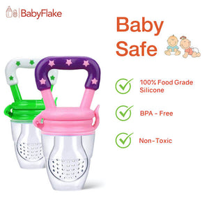 BabyFlake Food Pacifier - BabyFlake