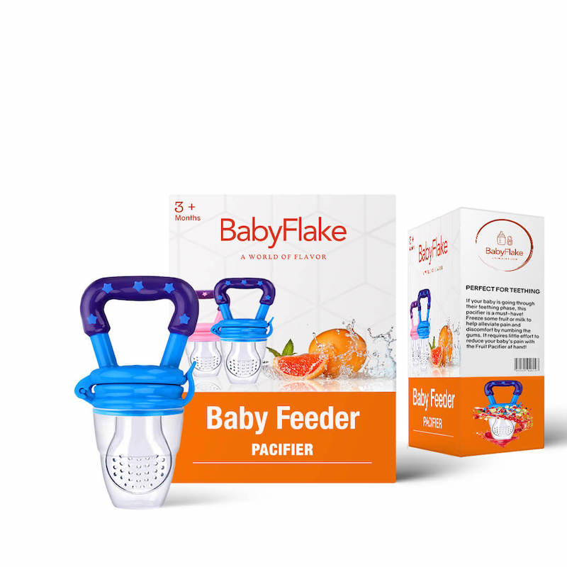 BabyFlake Food Pacifier - BabyFlake Teether teething remedy