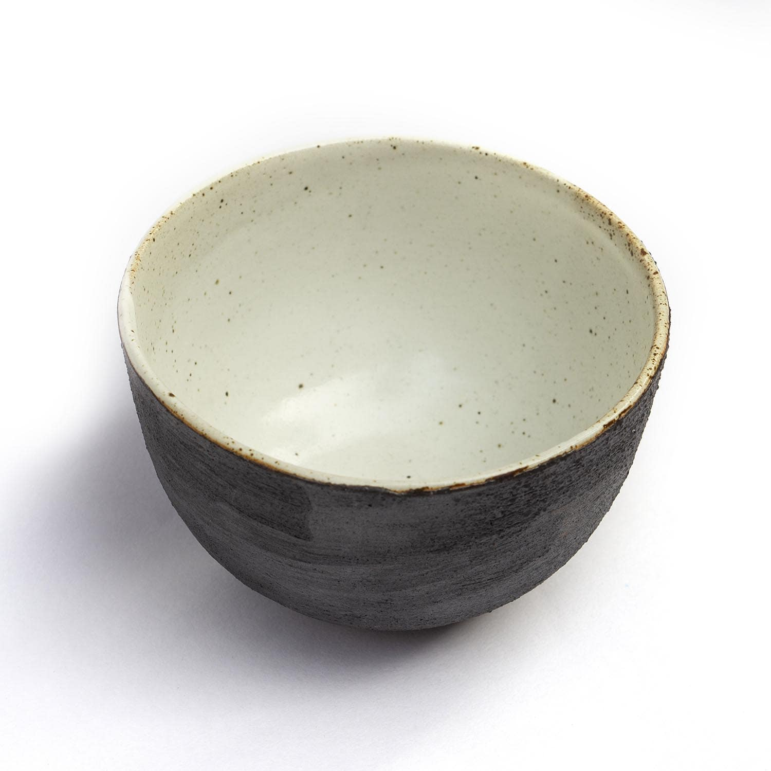 Rough Black Matcha Bowl - Heapwell Matcha