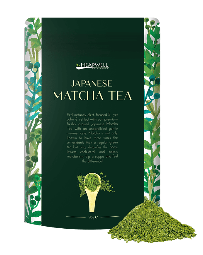 Japanese Matcha Green Tea, 50g - Heapwell Matcha
