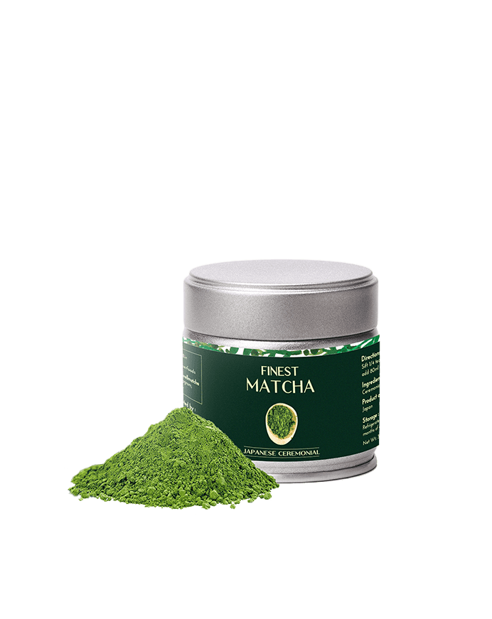 Ceremonial Matcha Green Tea, 30g - Heapwell Matcha