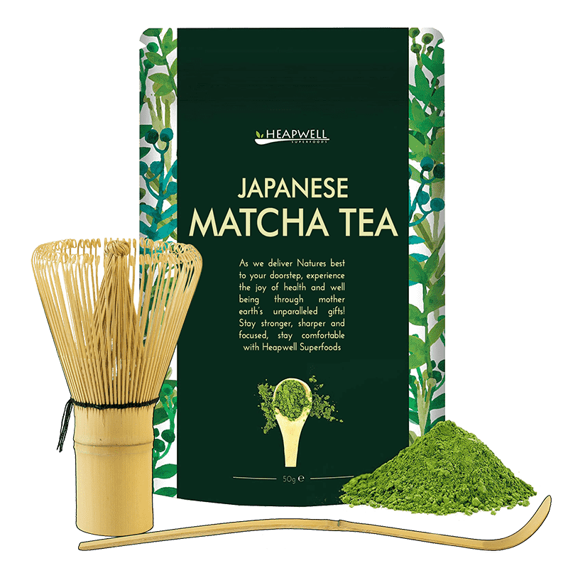 Japanese Matcha + Scoop + Whisk - Heapwell Matcha