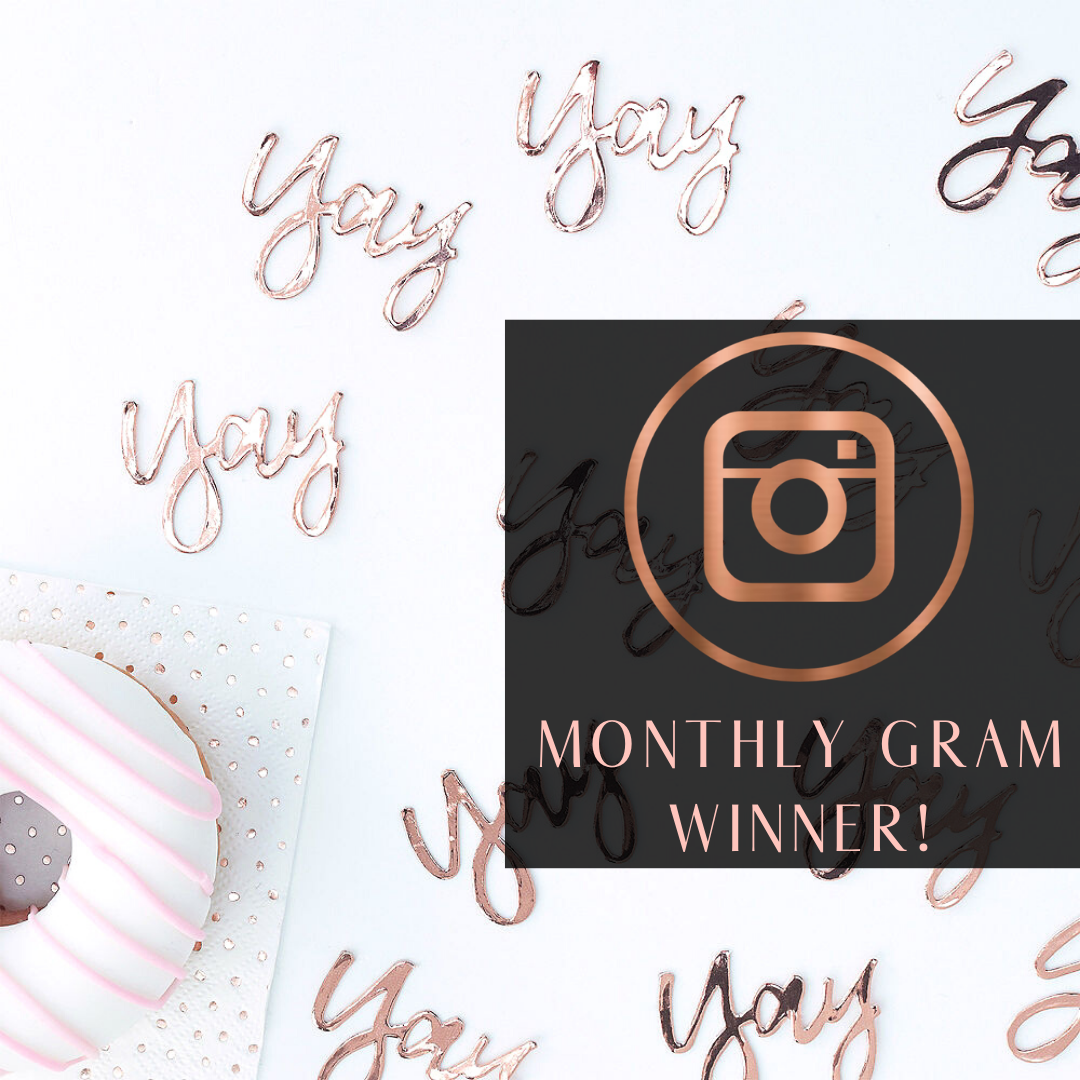 YAY! Monthly Instagram Chance to W-I-N!