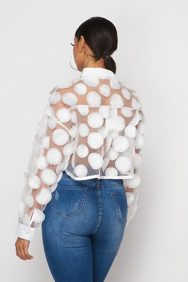 Only Me Mesh Top