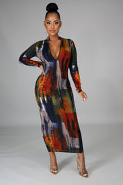 In It To Win It Maxi Dress