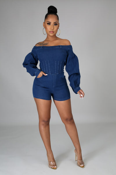 All About Me Romper