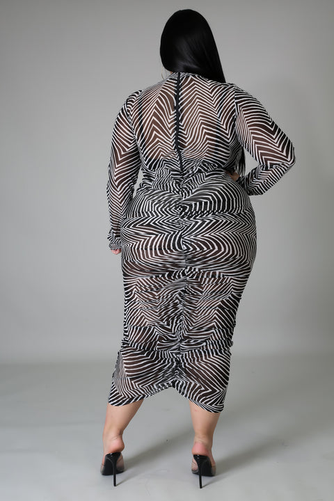 Check My Wild Side Maxi Dress-CM