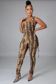 Fire and Lace Jumpsuit