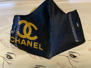 Designer Face Essentials (Chanel All Black - Gold Logo)