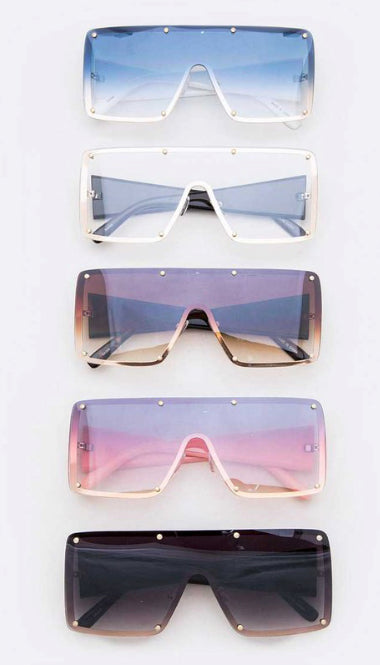 Temple Shield Sunglasses