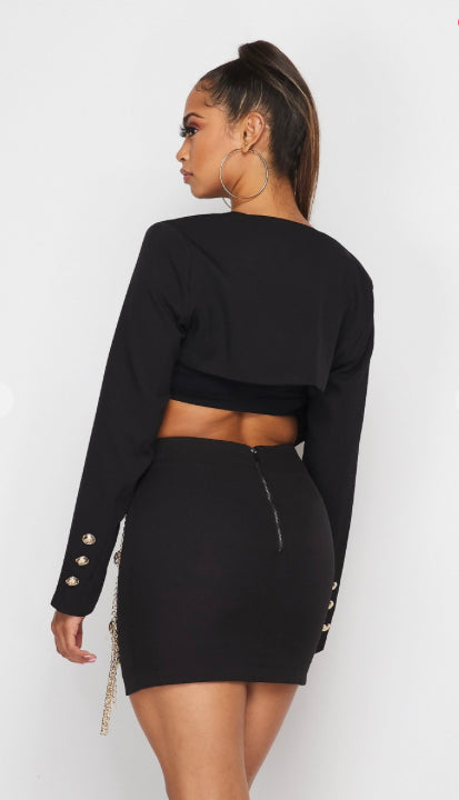 Breaking All The Chains Crop Jacket