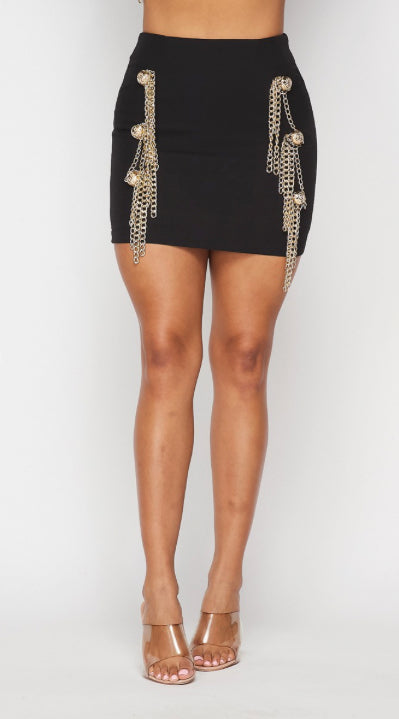 Breaking All The Chains Mini Skirt