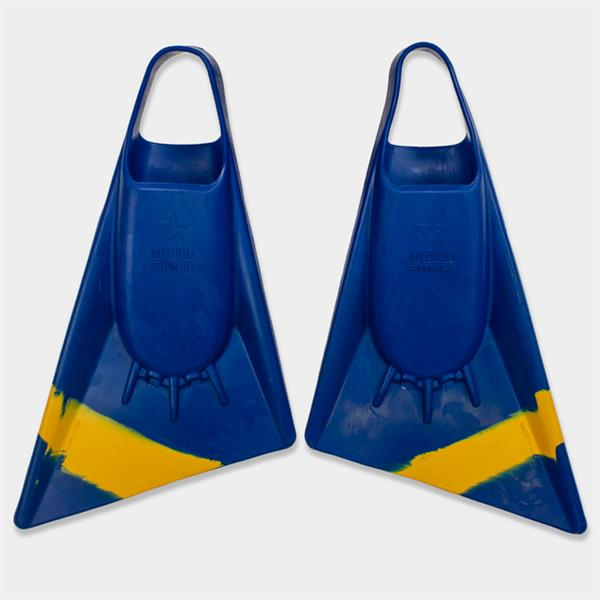 Stealth S2 Navy Sun Gold Pinnacle Bodyboard Fins