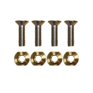 Fanatic Foil Screws and Nuts 8mm