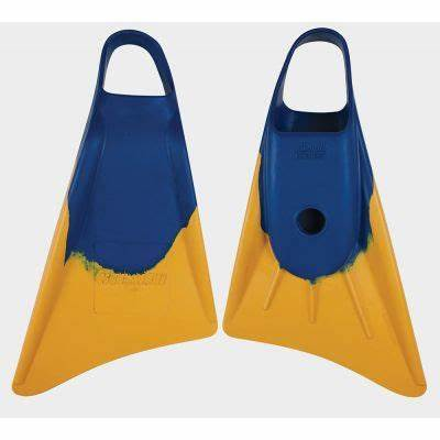 Stealth S1 Classic Fins Blue Sun Gold