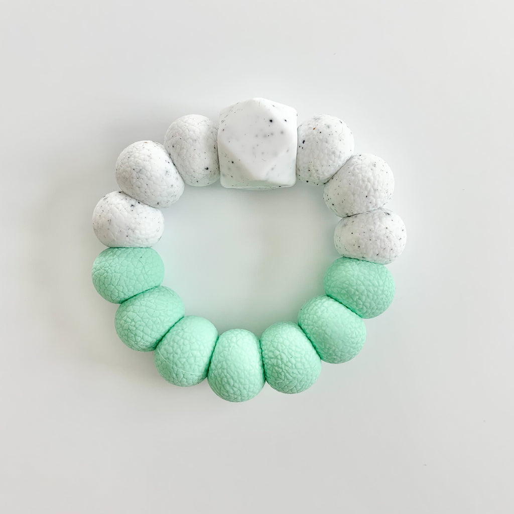 Mint *Textured* Freezer Teether