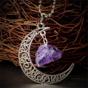 Moonlight Quartz Healing Necklace