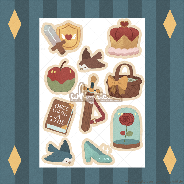 Fairytale Sticker Sheet